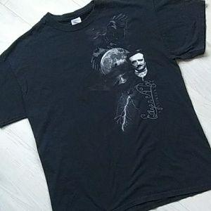 Gildan Edgar Allen Poe T-Shirt